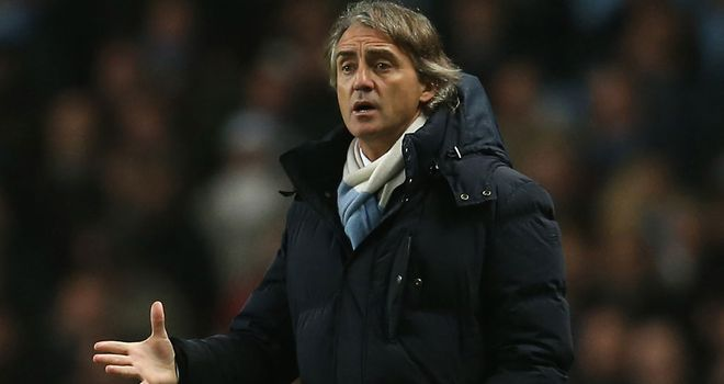 Roberto Mancini: Only a glimmer of a chance left of retaining Premier League title