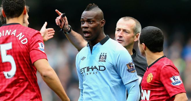 Mario Balotelli: The striker has left out of Manchester City's squad at Newcastle on Saturday
