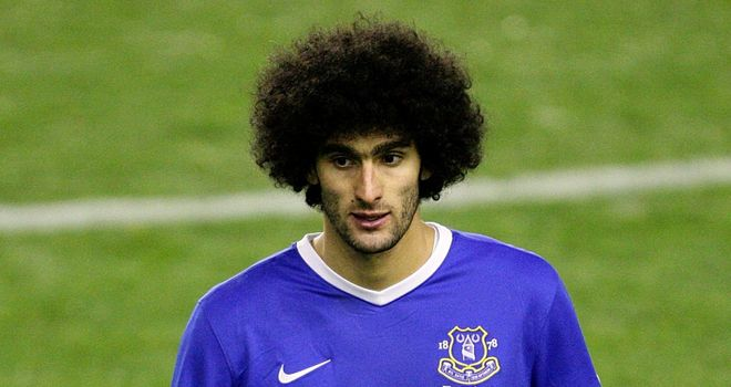 Marouane Fellaini: Will miss three matches over Christmas