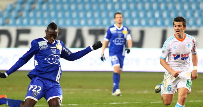 Yatabare: Scored for Bastia