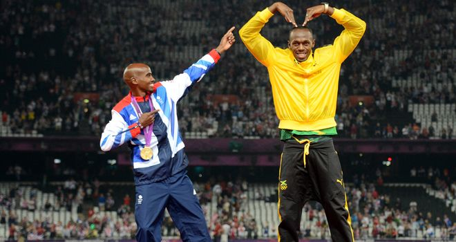 Mo Farah and Usain Bolt: Intriguing contest