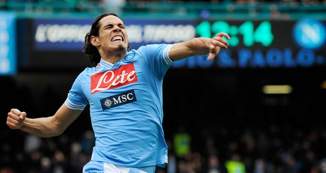 Edinson Cavani: Among the most sought-after forwards in European football