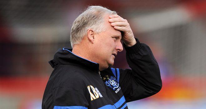 Kevin Blackwell: Feels his squad lacks depth