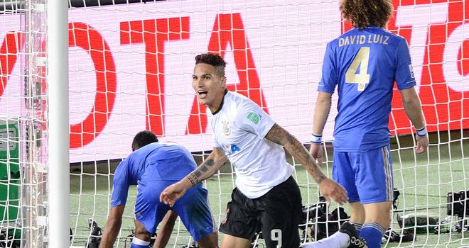 Paolo Guerrero: Happy to stay with Corinthians