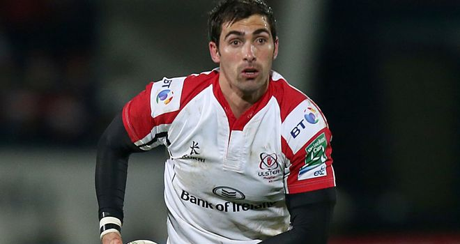 Ruan Pienaar: Booted 16 points for Ulster on 50th appearance