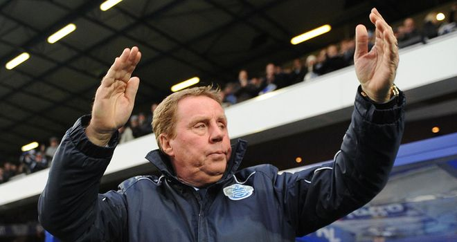 Harry Redknapp: New QPR boss admits beating the drop would be his finest feat as a manager