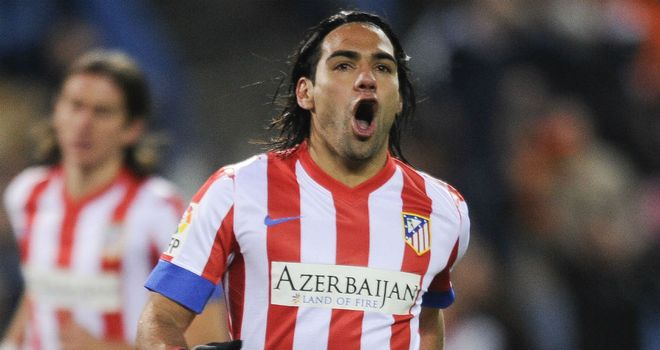 Radamel Falcao: Goal not enough for Atletico in Russia