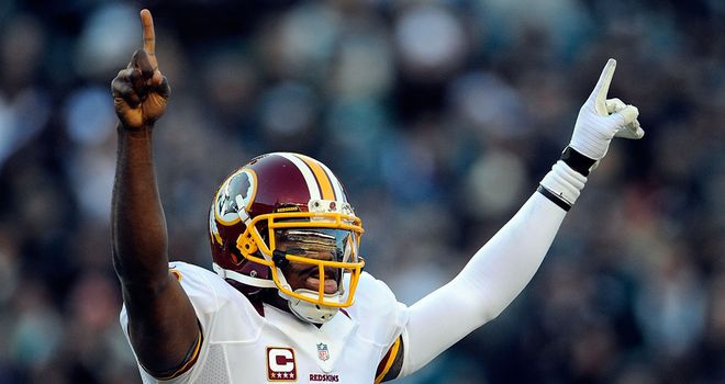 Robert Griffin III: marked his return from injury by helping the Redskins defeat the Eagles