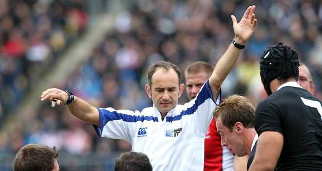 Romain Poite: Will take charge of third Test