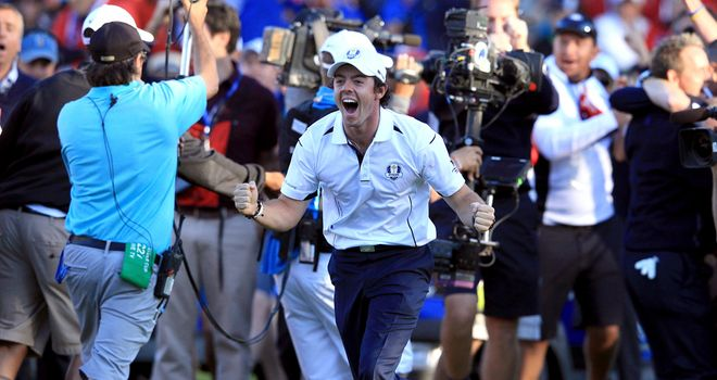 Rory McIlroy: The golfer of 2012