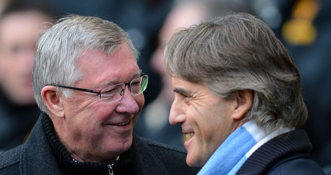 Roberto Mancini: Manchester City manager believes his side are better than Sir Alex Ferguson's Manchester United