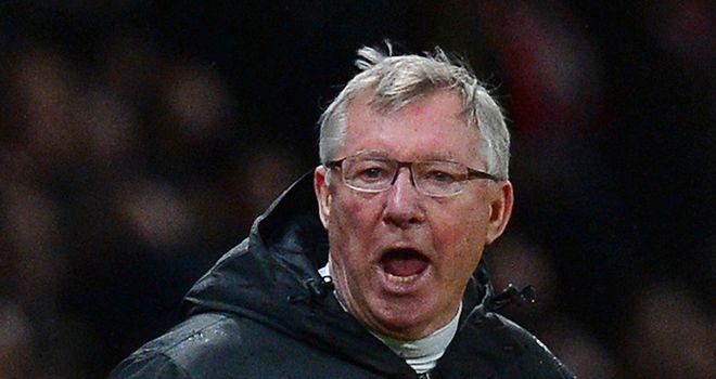 Sir Alex Ferguson: Hoping Manchester United can retain their seven-point lead