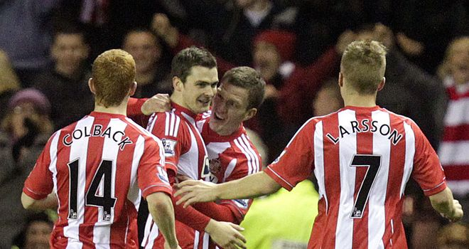 Adam Johnson proved to be the matchwinner against his former club Manchester City