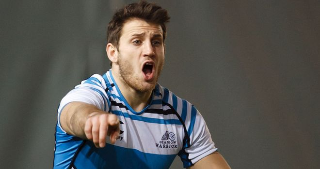 Tommy Seymour: on the scoresheet with a try for Glasgow