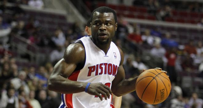 Will Bynum: had 25 points and 10 assist for Detroit in Friday's