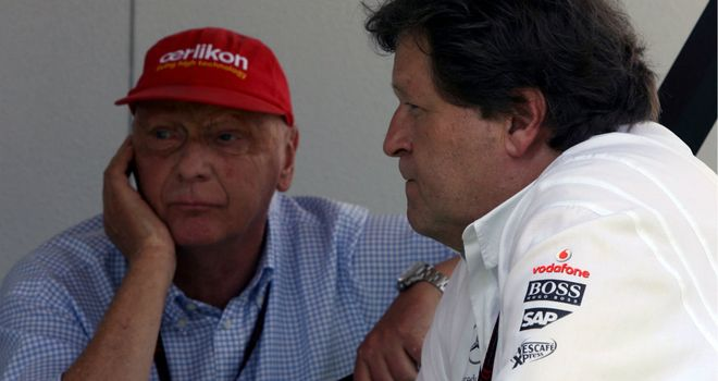 Norbert Haug: Insists exit has nothing to do with Lauda