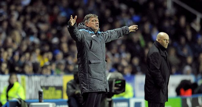 Sam Allardyce: Frustrating afternoon at Reading for West Ham boss