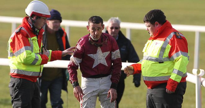 Davy Russell: Sustained a serious injury