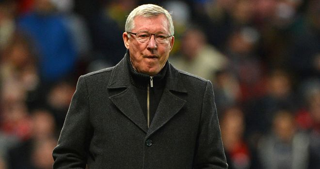 Sir Alex Ferguson: Looking for Manchester United to cement their standing at the summit