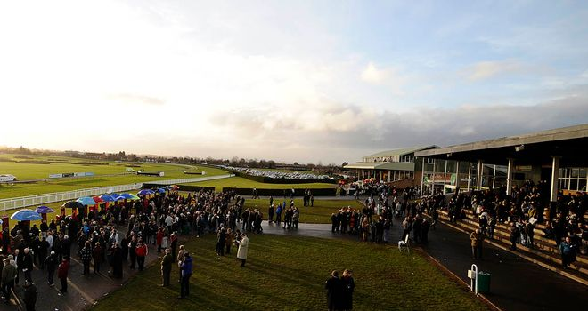 Hereford: Closed for thoroughbred racing in 2012