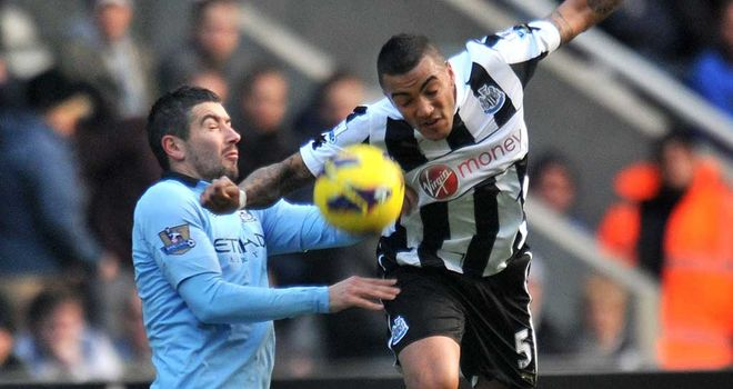 Alexsandar Kolarov: Accused of racially abusing two Newcastle fans
