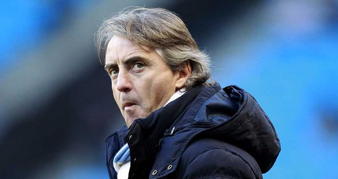 Roberto Mancini: Manchester City manager expects morale to be fine for Sunday&#39;s derby against United