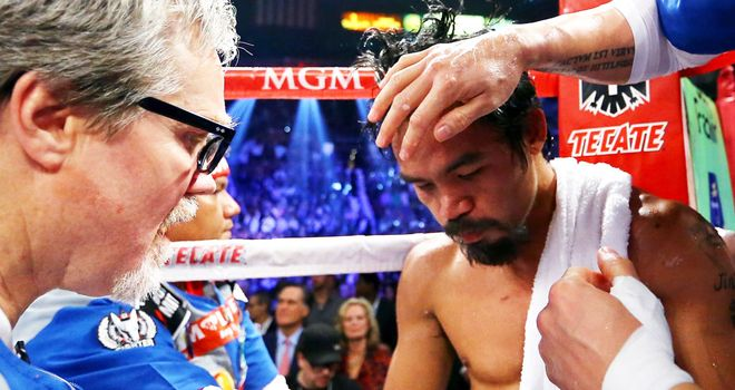 Manny Pacquiao: Suffered a brutal knockout defeat against Juan Manuel Marquez