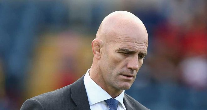 John Mitchell: Short reign at Sale Sharks