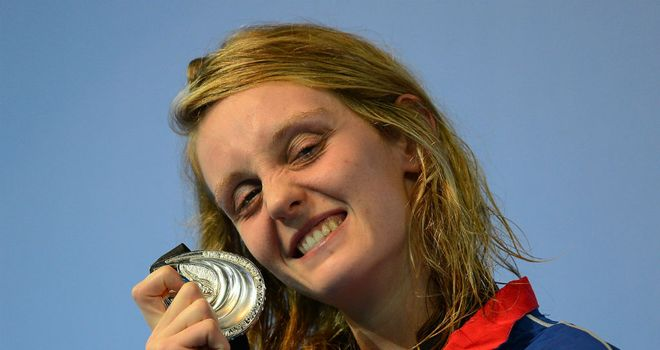 Fran Halsall: With her silver medal