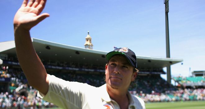 Shane Warne: Seemingly no Ashes revival after saying goodbye in 2007