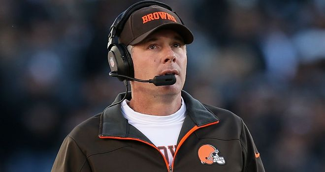 Pat Shurmur: went 9-23 during his two seasons in charge in Cleveland