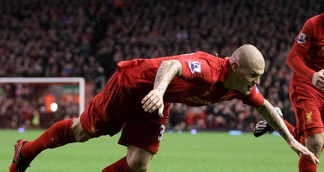 Martin Skrtel: Unlikely to feature in Liverpool's Europa League clash against Zenit St Petersburg