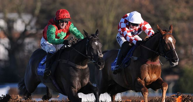 Taquin Du Seuil wins at Sandown