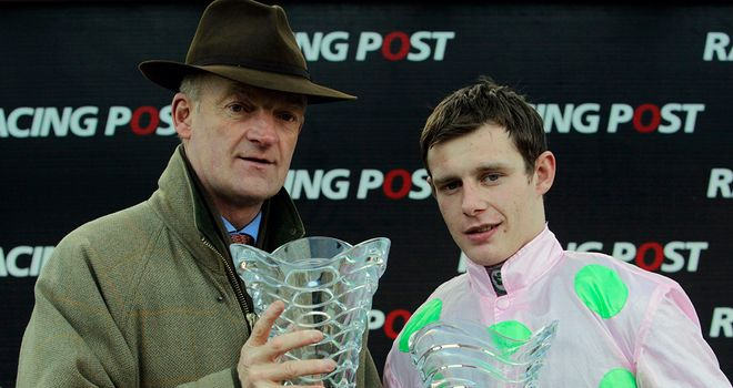 Mullins and Townend: Teamed up again with Twinlight