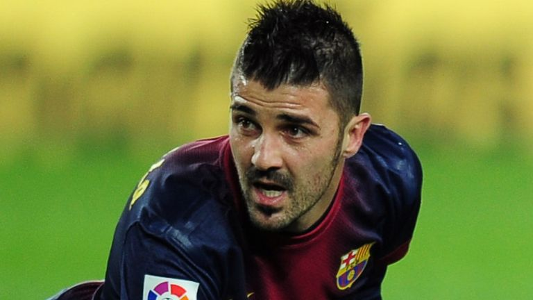 David Villa: Linked with £12million move to Chelsea