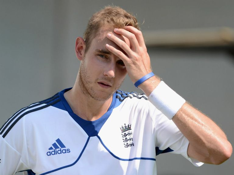 Stuart Broad: Hit by injury problems