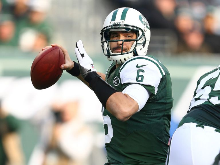 Mark Sanchez: Intercepted three times