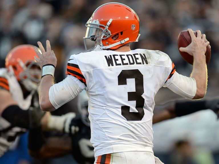 Brandon Weeden: One of the best games of his career