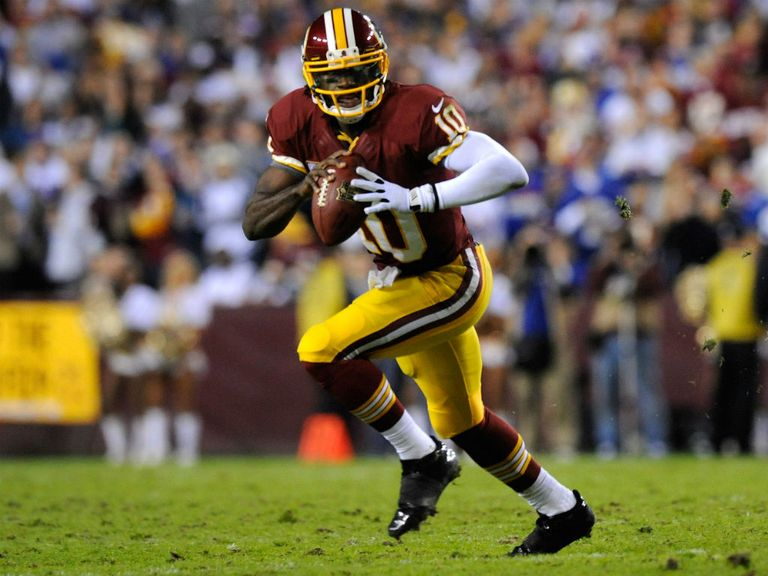 Robert Griffin III: Set an NFL record for rushing yards by a rookie quarterback