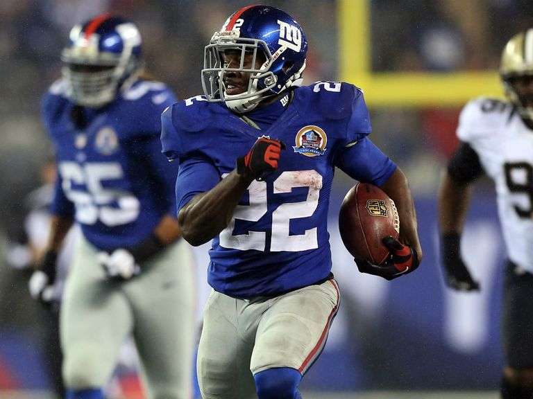 David Wilson: Record display for the New York Giants