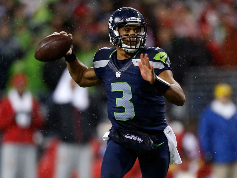 Russell Wilson: Threw for four touchdown passes