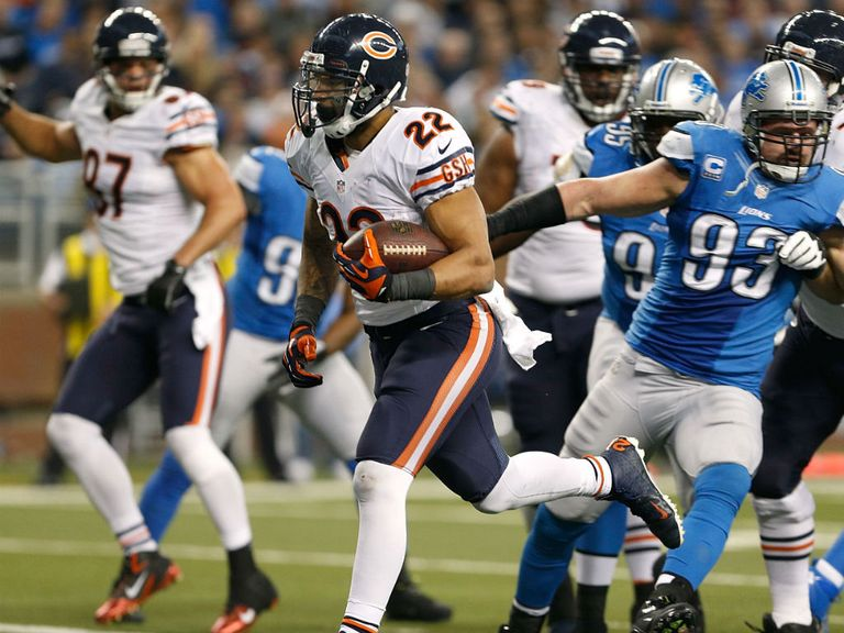 Matt Forte running hard for Chicago