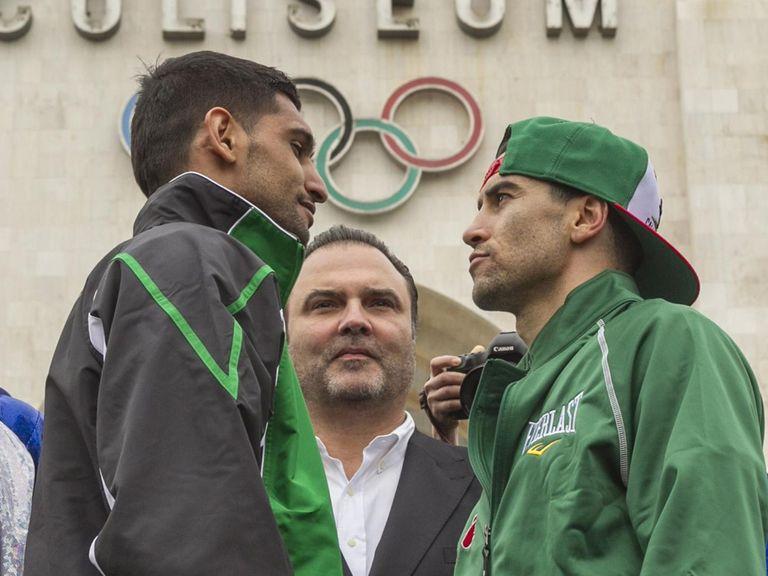 Amir Khan: Faces Carlos Molina in LA