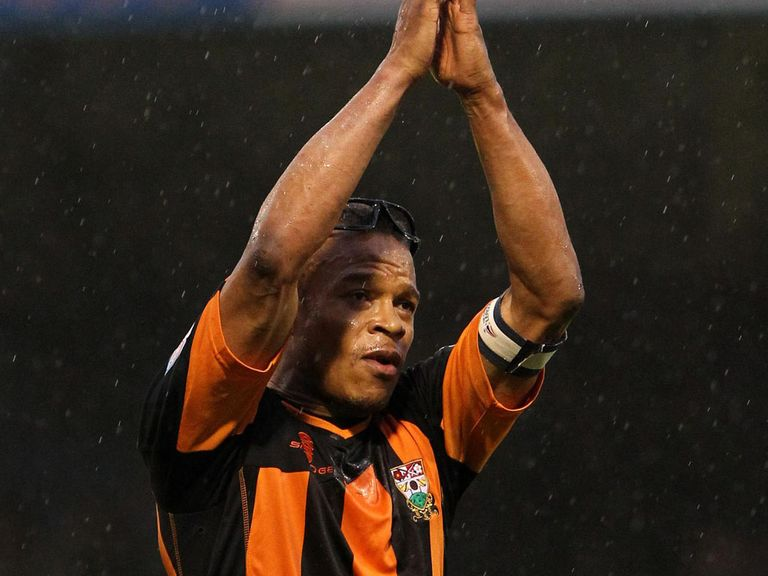 Edgar Davids: His Barnet can claim another victory