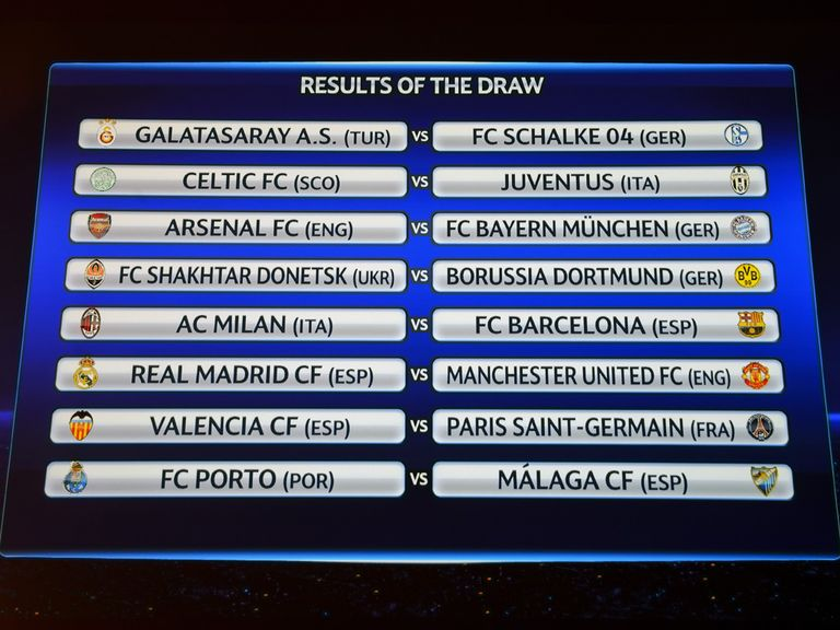 The draw produced some mouth-watering ties