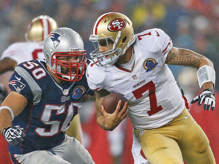 Colin Kaepernick: Threat for the San Francisco 49ers