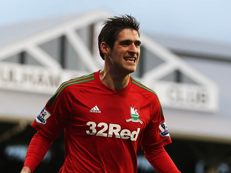 Danny Graham: On target against Fulham