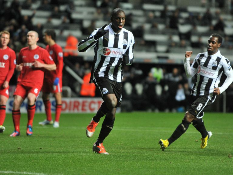 Demba Ba: Into double figures for league goals