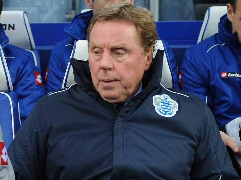 Harry Redknapp: Looking for first QPR win