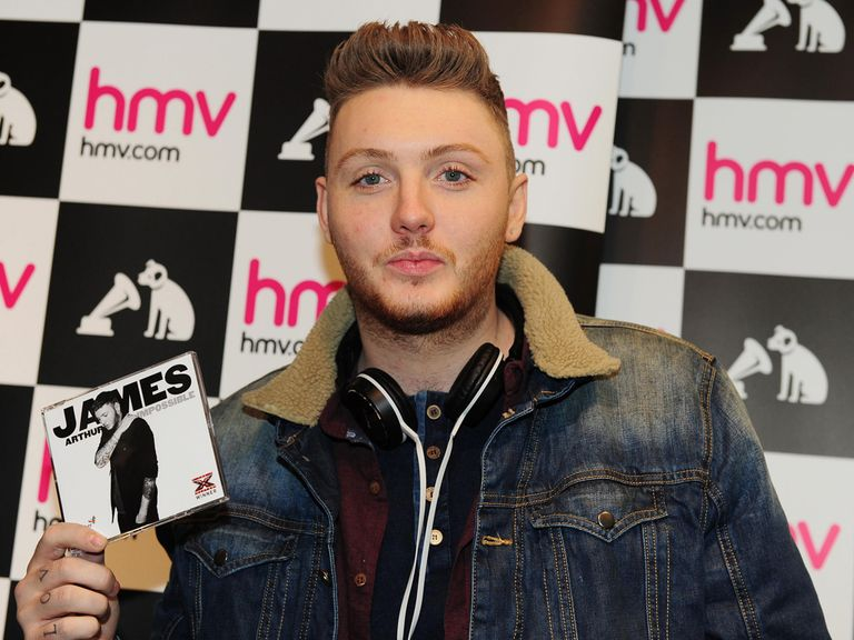 James Arthur: Another novelty winner for Chris Hammer